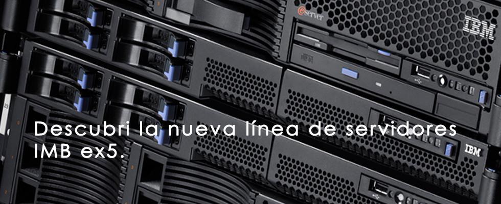 Neva línea de servidores profesionales IBM.